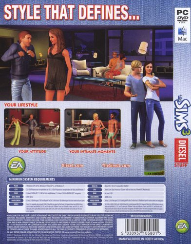 The Sims 3 - Diesel Stuff Pack (PC, DVD-ROM)   Games   Buy