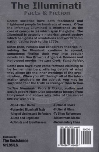 The Illuminati - Facts & Fiction (Paperback): Mark Dice