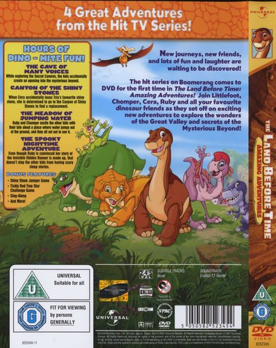The Land Before Time - Amazing Adventures (DVD): Land Before