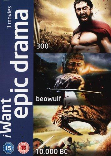 I Want Epic Drama - 300/ Beowulf/ 10,000 B C (DVD) | Movies