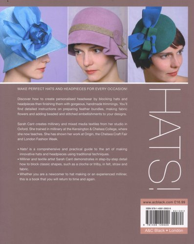 Hats - Making Classic Hats and Headpieces in Fabric 27475558052