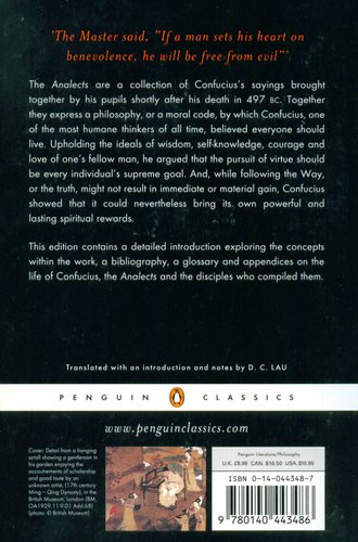 the analects penguin classics