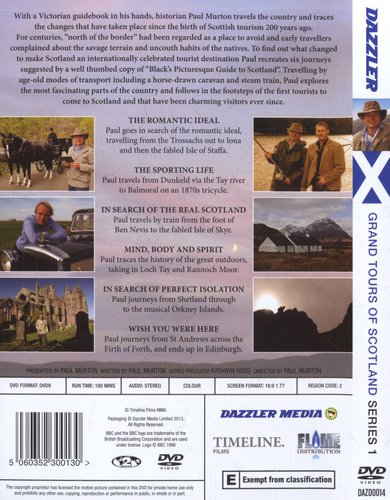 bbc grand tours of the scottish islands dvd