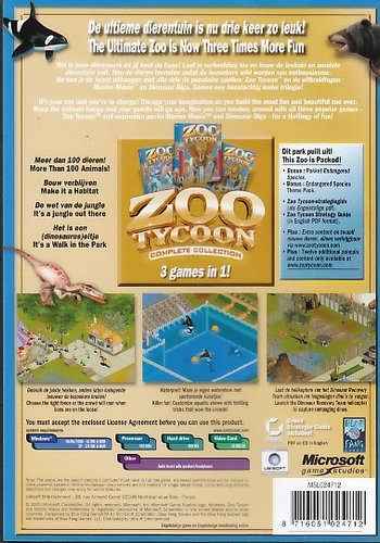 Zoo Tycoon - Complete Collection (PC, DVD-ROM)   Games   Buy