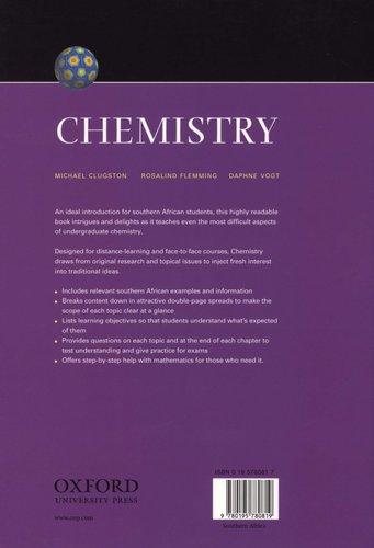 Chemistry - An Introduction for Southern African Students (Paperback