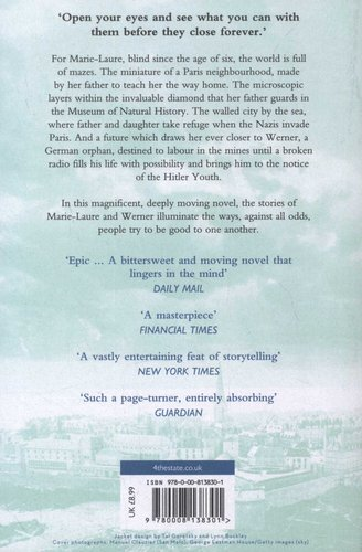 All The Light We Cannot See Paperback Anthony Doerr