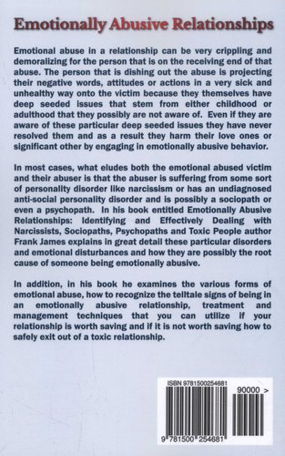 Emotionally Abusive Relationships - Identifying and