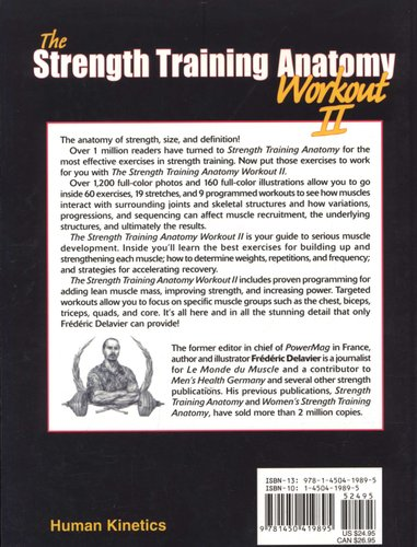 The Strength Training Anatomy Workout, v. 2 (Paperback): Frederic ...