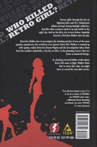 Powers Volume 1 Who Killed Retro Girl Hardcover Brian Michael