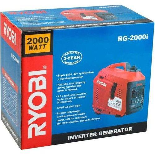 Ryobi Digital Petrol Inverter Generator (2000W) (40% Quieter