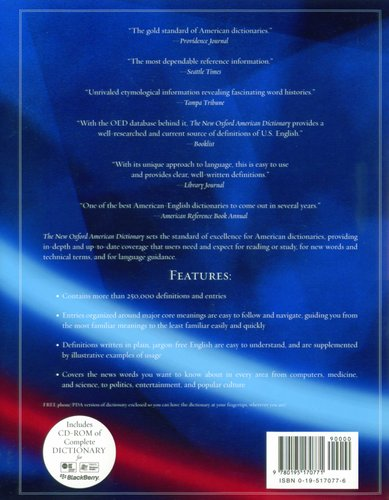 The New Oxford American dictionary - Second Edition (Hardcover, 2nd
