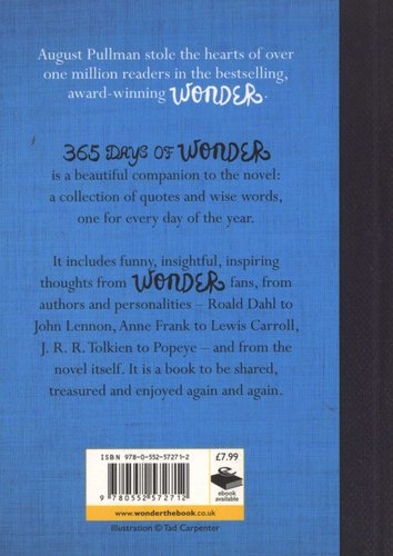 365 Days of Wonder (Paperback): R  J  Palacio: 9780552572712