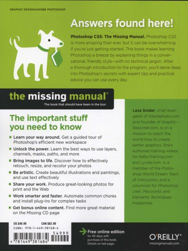 Photoshop CS5: The Missing Manual - The Book That Should Have Been