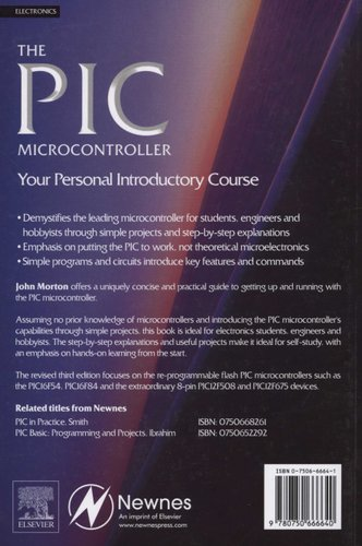 the pic microcontroller your personal introductory course morton john