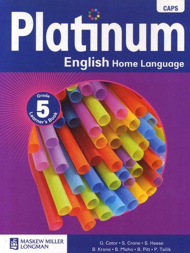 platinum english home language caps grade 5 learner s book rh loot co za Guardrail Terminal Gr-5 Gr 3