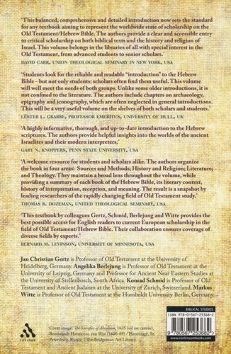 T&T Clark Handbook of the Old Testament - An Introduction to the