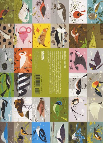Charley Harper Birds & Words Deluxe Coloring Book (Paperback ...