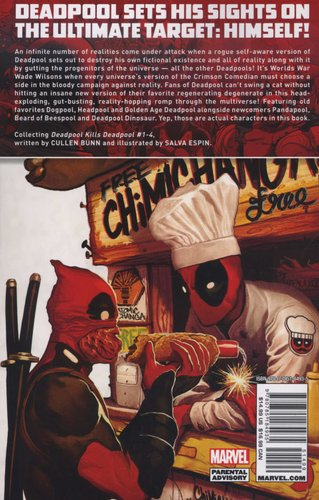 Deadpool Kills Deadpool Paperback Cullen Bunn 9780785184935
