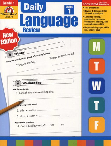 Daily Language Review, Grade 1 - Teacher Edition (Paperback