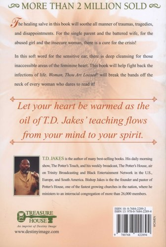 Woman, Thou Art Loosed! (Paperback): T D  Jakes: 9780768422894