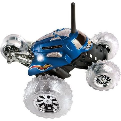 Thunder Tumbler 360 Monster Remote Controlled Rally Car Blue