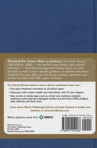 The Merck Manual - Eighteenth Edition (Hardcover, 18th Revised
