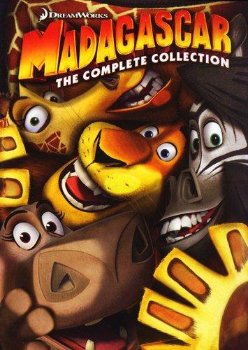 Madagascar Trilogy - Madagascar 1 / 2 / 3 (DVD, Boxed set