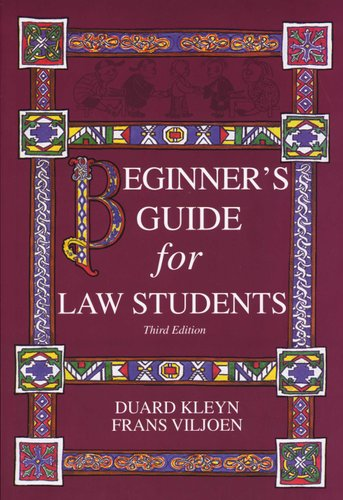 beginner s guide for law students paperback 3rd edition d kleyn rh loot co za Beginners Guide to Blockchain Beginners Guide to SEO