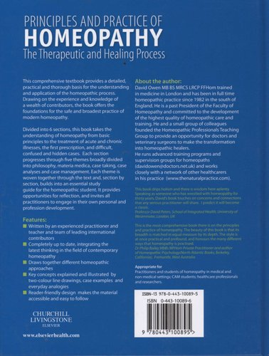 Principles and Practice of Homeopathy - The Therapeutic and