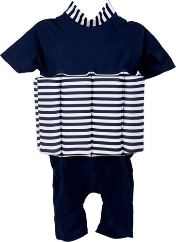 bc1c5e8c Polyotter Blue Stripe Floatsuit (56cm) | Baby | Buy online in South ...