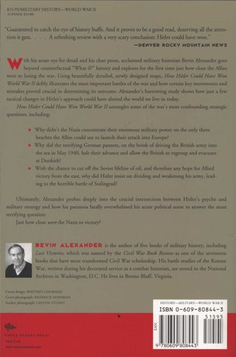 How Hitler Could Have Won World War II (Paperback, New