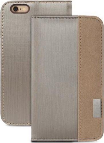 sale retailer 1d740 41561 Moshi Overture Wallet Case for iPhone 6 Plus (Titanium ...