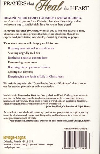 Prayers That Heal the Heart - Prayer Counseling That Breaks Every