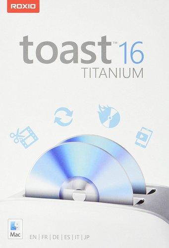 Roxio Toast 16 Titanium Mini Box (Mac OS)(Multilingual) | Computers