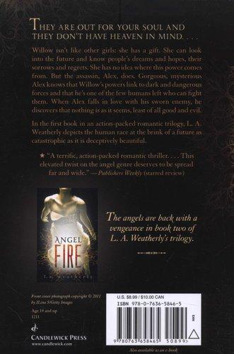 Angel Burn (Paperback): L  A  Weatherly: 9780763658465 | Books | Buy