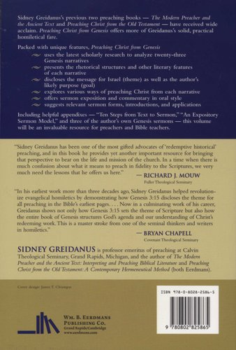 Preaching Christ from Genesis - Foundations for Expository Sermons