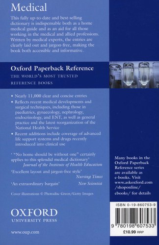Concise Medical Dictionary (Paperback, 7th Revised edition