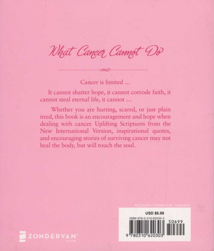 What Cancer Cannot Do Paperback Various Authors 9780310620303