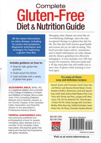 Complete Gluten-Free Diet & Nutrition Guide - With 30-Day