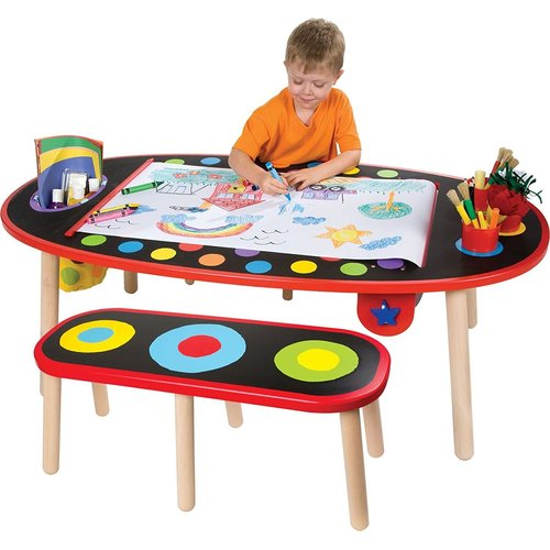 Alex Toys Super Art Table With Paper Roll Toy Toys Buy Online