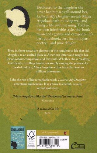 Letter To My Daughter Paperback Digital Original Maya Angelou