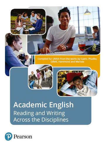 Academic English  Reading And Writing Across The Disciplines  Share Your Images