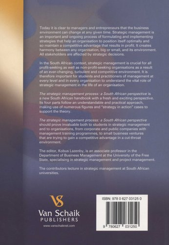 A Handbook of Strategic Management