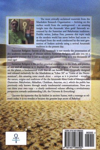 Sumerian Religion - Secrets of the Anunnaki (Paperback