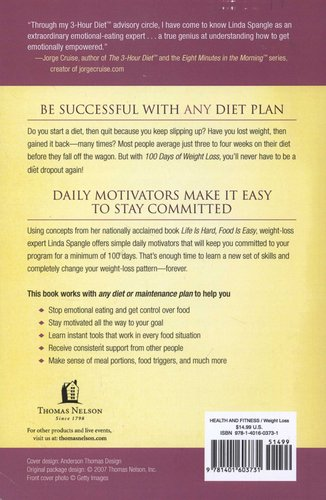 100 days of weight loss the secret to being successful on any diet rh loot  co za