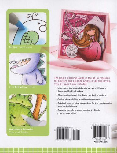 Copic Coloring Guide (Paperback): Colleen Schaan, Marianne Walker ...