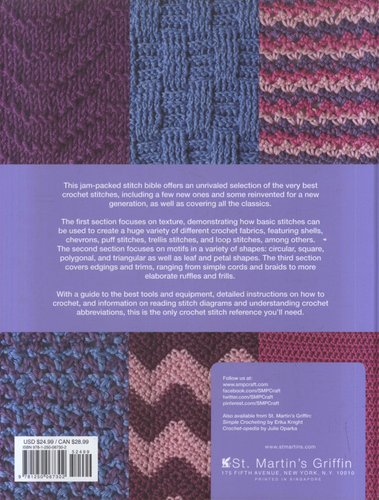 500 Crochet Stitches - The Ultimate Crochet Stitch Bible (Hardcover