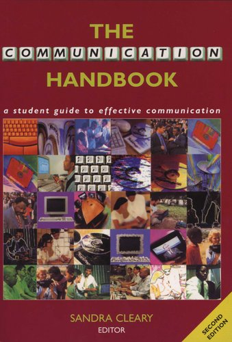 the communication handbook a student guide to effective communication