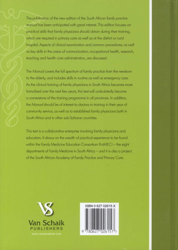 south african family practice manual hardcover 2nd revised edition rh loot co za South African Genealoy Sites South African Clothing