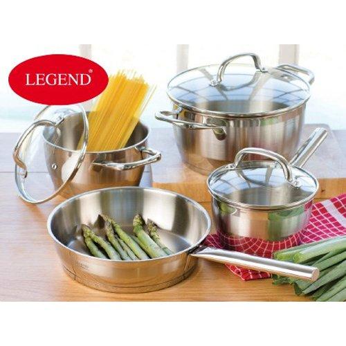 Legend Fusion Chef Cookware Set (7 Piece)